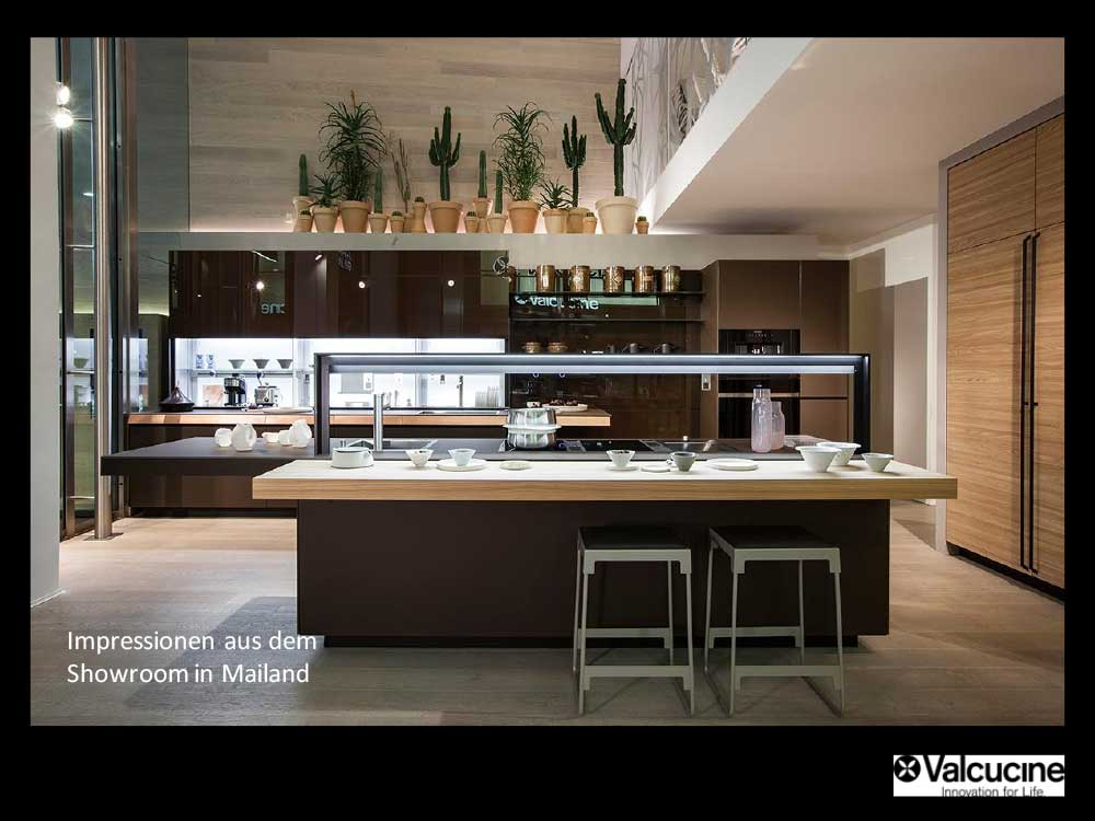 Valcucine Showroon in Mailand