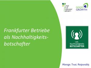 Nachhaltigkeit in Frankfurter Betrieben