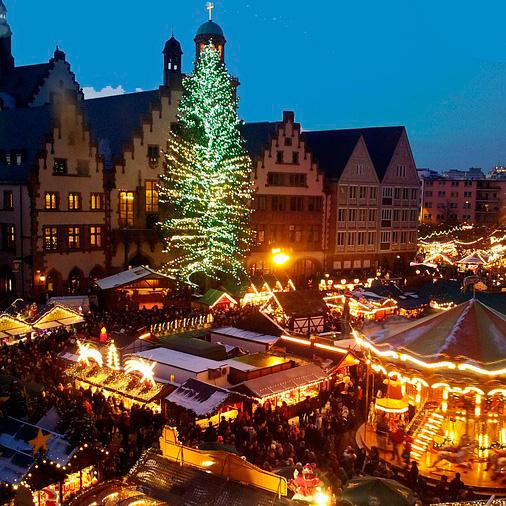 Weihnachten 2016 in Frankfurt am Main. Quelle: pixabay.com