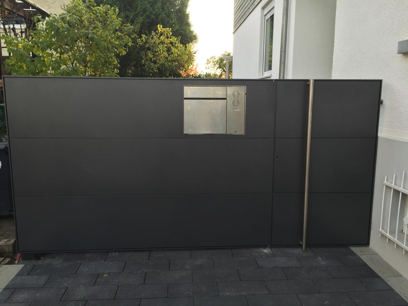 tore und einfriedungen aus metall mainlink. Black Bedroom Furniture Sets. Home Design Ideas