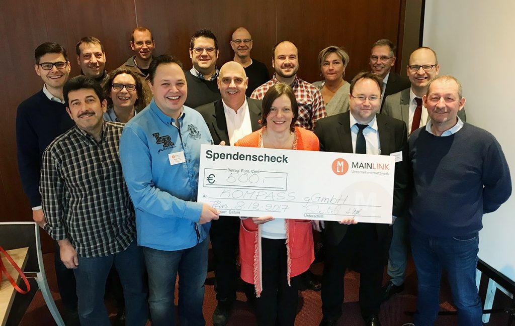 Die Mitglieder des Mainlink Unternehmernetzwerk Frankfurt unterstützen Bildungsprojekte in Rhein-Main