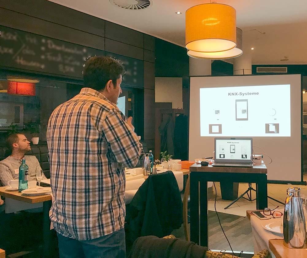 Elektro-Vortrag im Mainlink Unternehmernetzwerk Frankfurt