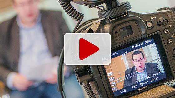Mainlink Unternehmernetzwerk Vortrag Video und Film für Unternehmer