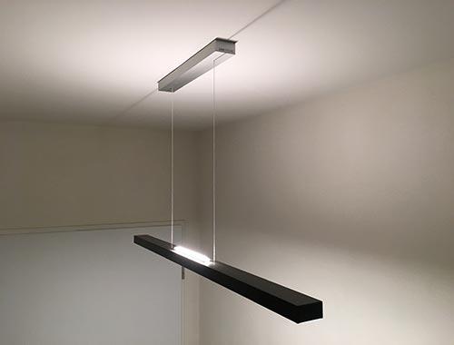 LED Lampe lineares Licht von Unternehmern aus Frankfurt