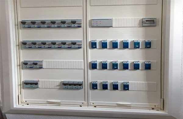 Sicherungskasten mit FI. Bild © Manzanares