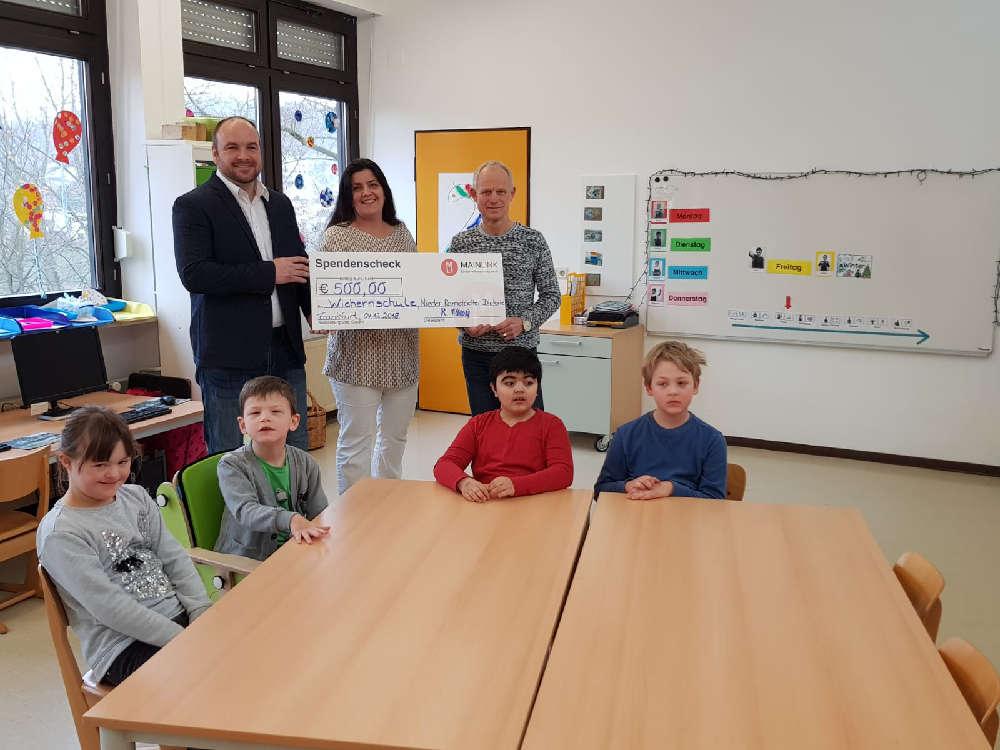 Mainlink-Spende-Wichernschule