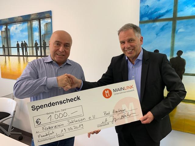 Mainlink-Spende-Inklusion